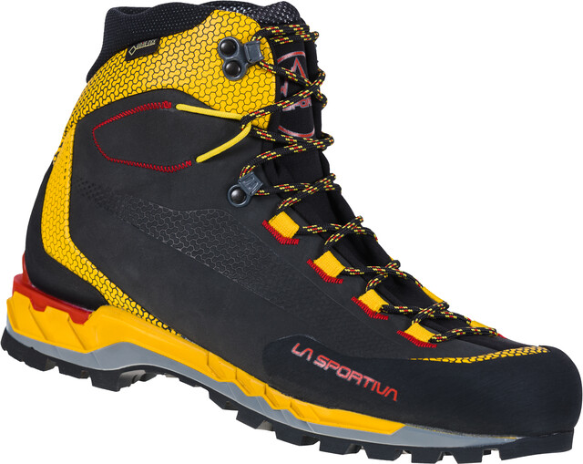 La Sportiva Trango Tech Leather GTX Schuhe Herren blackyellow